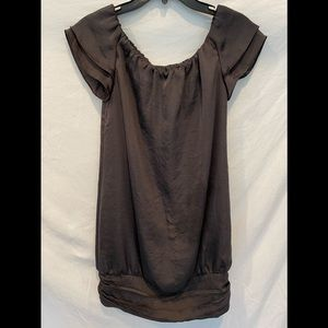 Club Monaco silky polyester tunic top 0